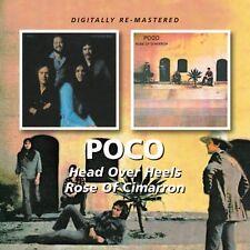 Poco - Head Over Heels / Rose of Cimarron [New CD] Rmst