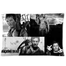 The Walking Dead Daryl Dixon Pillow Case Cover Protector 20 x 30 Inch One Side
