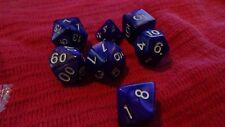 Nine Packs of 7 Polyhedral dice - MTG Star Wars ADnD DnD Role Play Games RPG