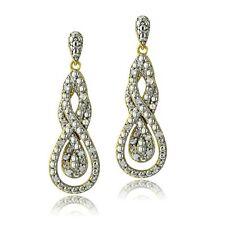 Gold Diamond Fashion Earrings