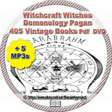 405 Witchcraft Witch Witches Occult Magic Pagan Books Library PDF DVD