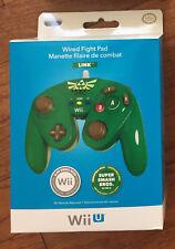 Nintendo Wii U ZELDA Wired Fight Pad Controller NEW Official OEM WiiU Switch