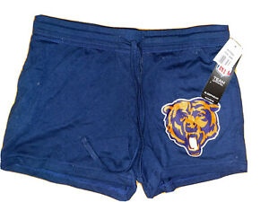 Chicago Bears • New Womens Navy Blue Shorts • Small NWTS