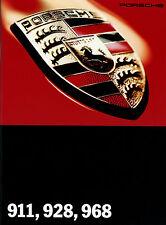 Prospekt 1994 Porsche 911 928 968 auto folleto 7 94 brochure auto automóviles Europa