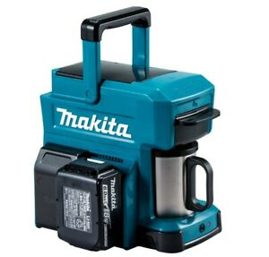 Makita CM501DZ Portable Rechargeable Coffee Maker Blue Body Only NEW