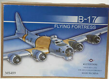 B-17 Flying Fortress Plane Tin Toy Retro Wind -Up Clockwork Collectable