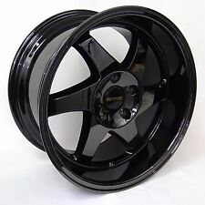 Ryver wheels Sawblade Black chrome 17x9 5x114.3
