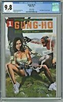 Gung-Ho #1 CGC 9.8 CK Elite Edition Horn Cover Variant Comic Kingdom Canada