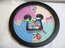Disney Channel Mickey Mouse Battery Operated Collectible Wall Clock 11 1/2""