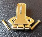Cheney-style Latch / Hasp (ONLY)  Fender  G&G Guitar case BRIGHT BRASS w/Rivets