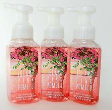 3 BATH & BODY WORKS ISLAND PINK POMELO GENTLE FOAMING HAND SOAP 8.75oz NEW!
