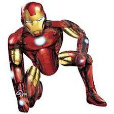 Party Supplies Boys Birthday  Airwalker Foil Balloon The Avengers Iron Man