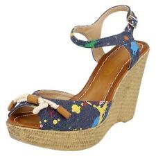 Calzado de mujer plataformas textiles