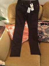 Level 99 27 Lily Skinny Straight Brown Jeans BNWT 29 To 30 Leg