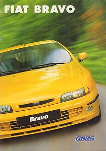 AUTOFOLDER / BROCHURE FIAT BRAVO 1998