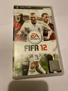 😍 sony psp playstation portable pal fr complet fifa 12 football + calendrier