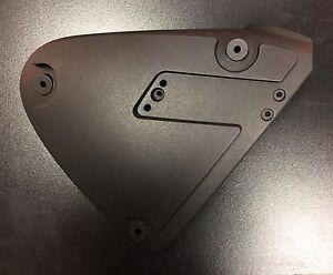 Side cover panel matt black right for Keeway Superlight post 2014