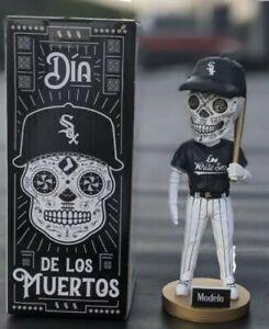 White Sox Bobblehead Sugar Skull SGA Day of the Dead Dia De Los Muertos