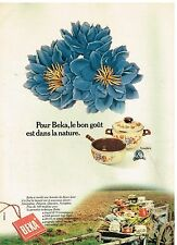 Publicité Advertising 1975 Les Casseroles et faitout Beka