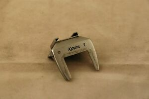 Kowa T accessory shoe for 35mm SLR cameras.