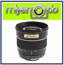 Samyang 85mm f/1.4 Aspherical IF Lens For Canon Mount