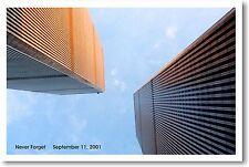 NEVER FORGET - September 11, 2001 9/11 Patriotic POSTER