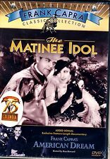 NEW DVD // The Matinee Idol/ Frank Capra's American Dream -  Bessie Love, Johnni