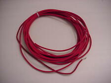 Red Test Lead Wire 18-1 For 5Kv, 25 Feet - New