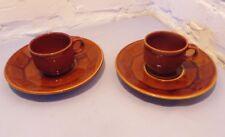 tasses à café et leur sous tasses FINA ENGLAND  , OBJETS PUBLICITAIRES