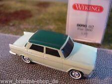 1/87 Wiking Fiat 1800 verde pálido techo verde oscuro 0090 02 B