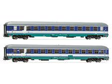 Rivarossi HR4245 Personenwagenset Reisezugwagen UIC-X 1./2.Kl. + 2.Kl. FS 2x H0