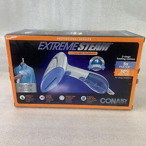 Conair Extreme Steam Model GS237 Handheld Fabric Garment Steamer Dual Heat Box