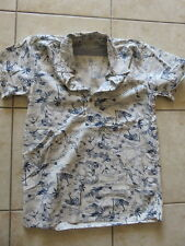 SCOTCH superbe chemise hawaïenne taille 14 ans  *****************