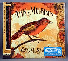 Van MORRISON Keep Me + Sticker 1st Press JAPAN PROMO DigiSleeve CD HSU-10092 NEW