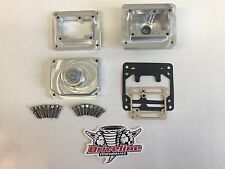 YAMAHA BANSHEE DRAG RACING BILLET BOWLS FOR STOCK 26MM MIKUNI CARBURETORS