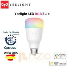 Bombilla LED Xiaomi Yeelight E27 RGB WIFI Google Home Alexa Homekit Siri