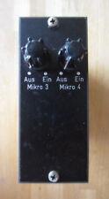1 Stück Siemens Mischpult Mixer Inputwahlschalter Modul V164 Phantomspeisung
