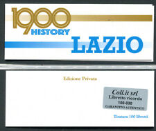 Libretto carnet Lazio 2020 - Edizione privata numerata 100 esemplari - Calcio