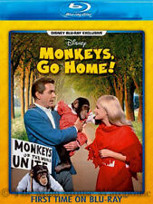 Monkeys Go Home Air Force Chimpanzees Disney Comedy on Blu-ray Monkeys, Go Home!