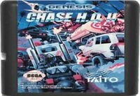 Chase H.Q. II (1992) 16 Bit Game Card For Sega Genesis / Mega Drive System