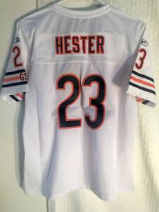 Reebok Women's Premier NFL Jersey Bears Devin Hester White sz 2X