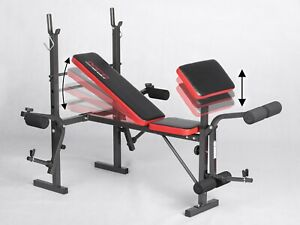 Weight Bench Black Foldable Fitness Home Gym Workou t!!