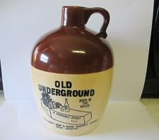 Vintage Pottery Liquor Jug GIFTCRAFT JAPAN OLD UNDERGROUND WHISKEY JUG