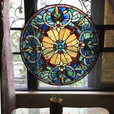Chloe Lighting Tiffany Style Victorian Window Panel CH1P095BV22-GPN