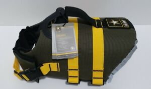 U.S. Army Dog Life Vest Small Life Jacket For Swimming Boating Hiking - NEW
