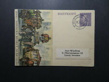 Sweden 1937 50th Ann Nordic Museum Postal Card / Corner Creases - Z12213