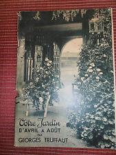 catalogue Georges Truffaut 1938 - jardin - graine - agricole  ( ref 22 )