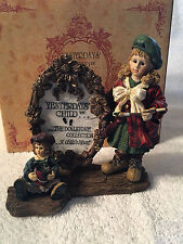 Boyds Collection Yesterdays' Child Anna and the Masterpiece Figurine