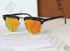 New Qaulity Classic Clubmaster unisex Sunglasses UV400 Retro Vintage