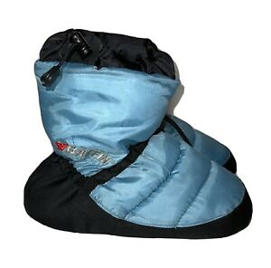 Baffin Cush Booties Booty Slippers Unisex Medium Blue Camping